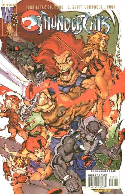 ThunderCats #0 comic books for sale