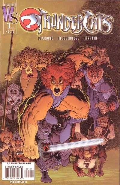 ThunderCats #1 comic books - cover scans photos ThunderCats #1 comic books - covers, picture gallery