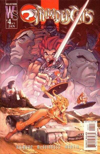 ThunderCats #4 comic books - cover scans photos ThunderCats #4 comic books - covers, picture gallery
