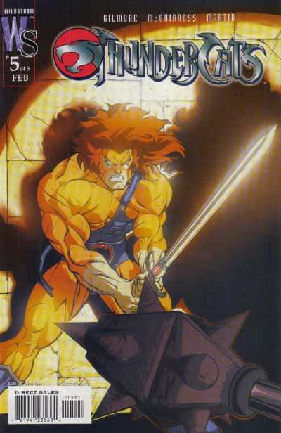 ThunderCats #5 comic books - cover scans photos ThunderCats #5 comic books - covers, picture gallery
