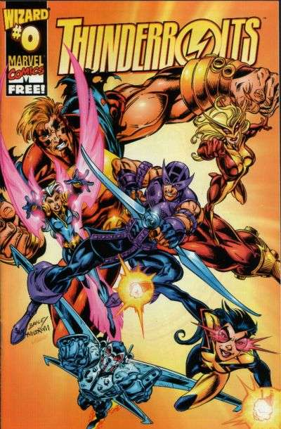Thunderbolts #0 comic books for sale