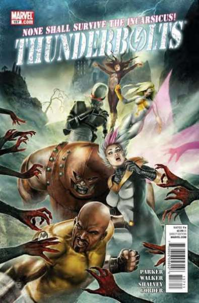 Thunderbolts #157 Comic Books - Covers, Scans, Photos  in Thunderbolts Comic Books - Covers, Scans, Gallery