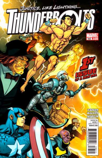 Thunderbolts #163 Comic Books - Covers, Scans, Photos  in Thunderbolts Comic Books - Covers, Scans, Gallery