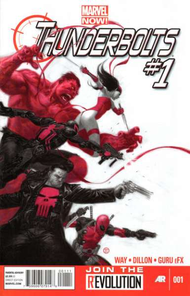 Thunderbolts comic books