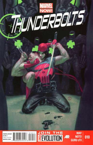 Thunderbolts #10 comic books - cover scans photos Thunderbolts #10 comic books - covers, picture gallery