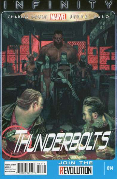 Thunderbolts #14 comic books - cover scans photos Thunderbolts #14 comic books - covers, picture gallery