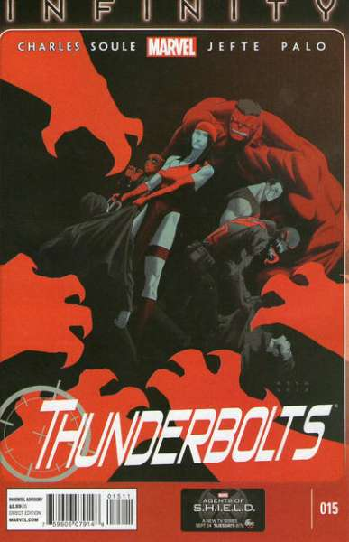 Thunderbolts #15 comic books for sale