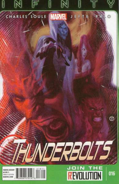 Thunderbolts #16 comic books - cover scans photos Thunderbolts #16 comic books - covers, picture gallery