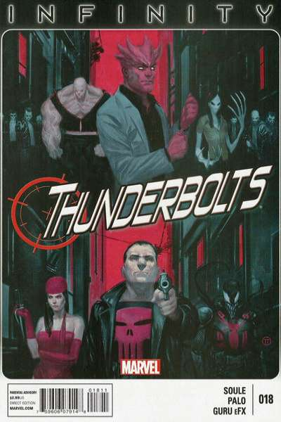 Thunderbolts #18 comic books for sale