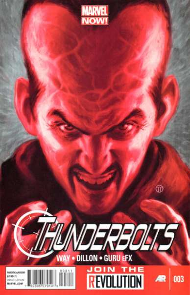 Thunderbolts #3 comic books - cover scans photos Thunderbolts #3 comic books - covers, picture gallery