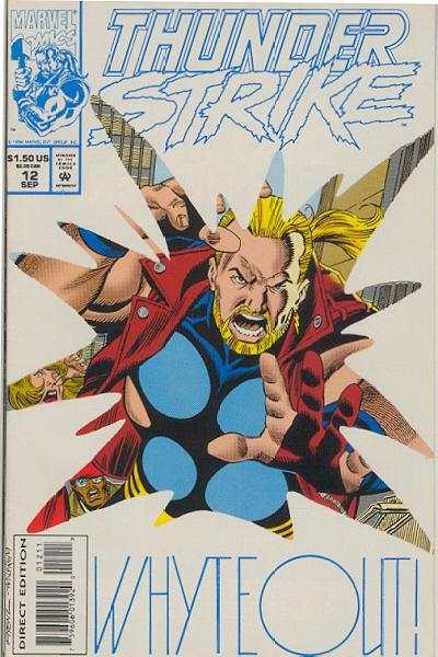 Thunderstrike #12 comic books for sale