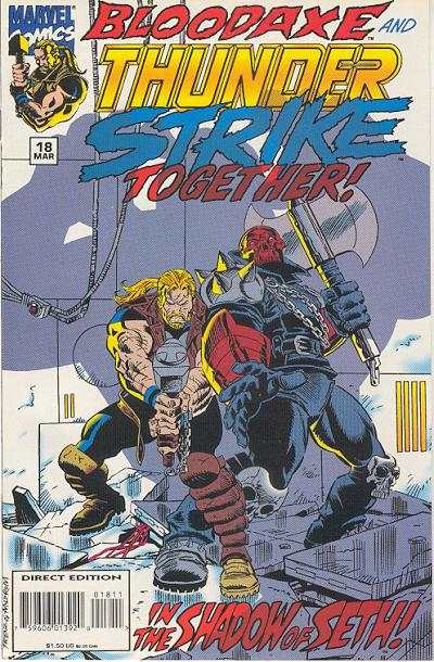 Thunderstrike #18 comic books for sale