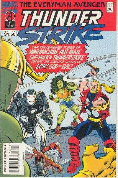Thunderstrike #21 comic books for sale