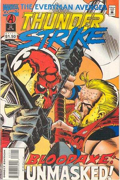 Thunderstrike #22 comic books for sale