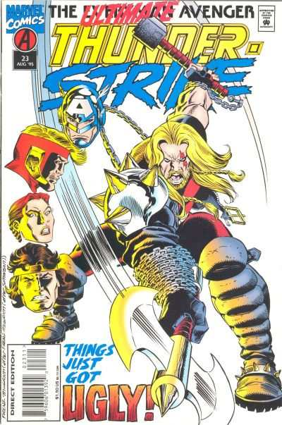 Thunderstrike #23 Comic Books - Covers, Scans, Photos  in Thunderstrike Comic Books - Covers, Scans, Gallery