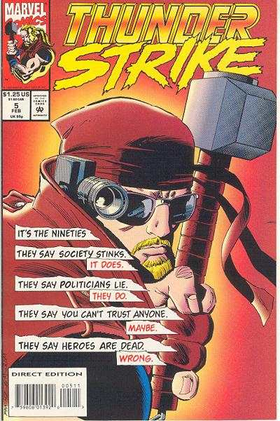 Thunderstrike #5 comic books for sale