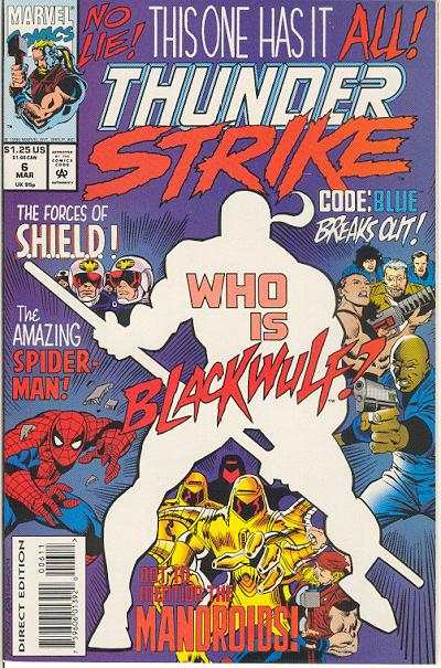 Thunderstrike #6 comic books for sale