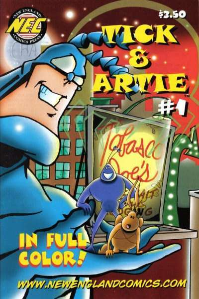 Tick & Artie comic books