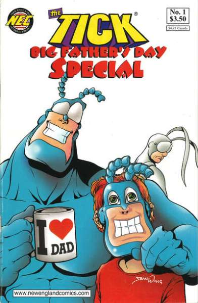 Tick: Big Father's Day Special Comic Books. Tick: Big Father's Day Special Comics.