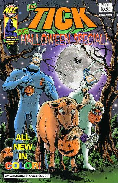 Tick: Big Halloween Special #2001 comic books for sale