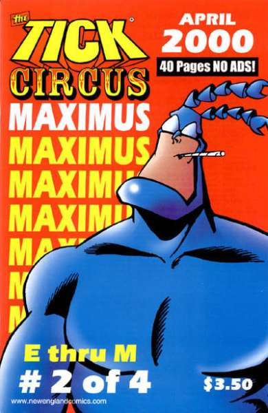 Tick Circus Maximus #2 Comic Books - Covers, Scans, Photos  in Tick Circus Maximus Comic Books - Covers, Scans, Gallery