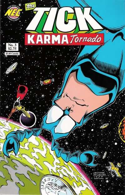 Tick: Karma Tornado #3 Comic Books - Covers, Scans, Photos  in Tick: Karma Tornado Comic Books - Covers, Scans, Gallery