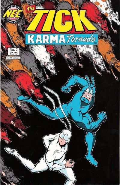 Tick: Karma Tornado #7 Comic Books - Covers, Scans, Photos  in Tick: Karma Tornado Comic Books - Covers, Scans, Gallery