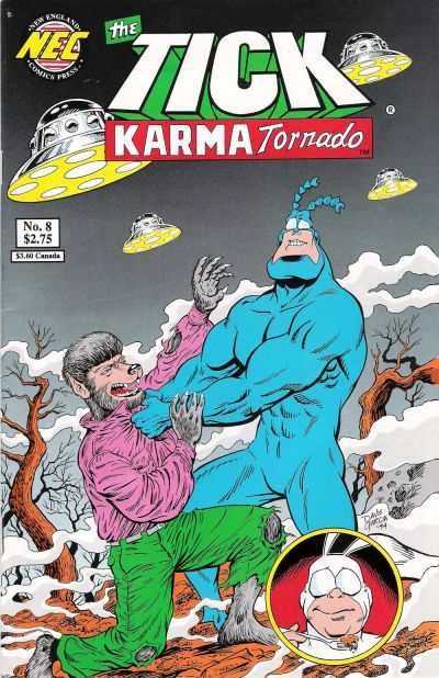 Tick: Karma Tornado #8 Comic Books - Covers, Scans, Photos  in Tick: Karma Tornado Comic Books - Covers, Scans, Gallery