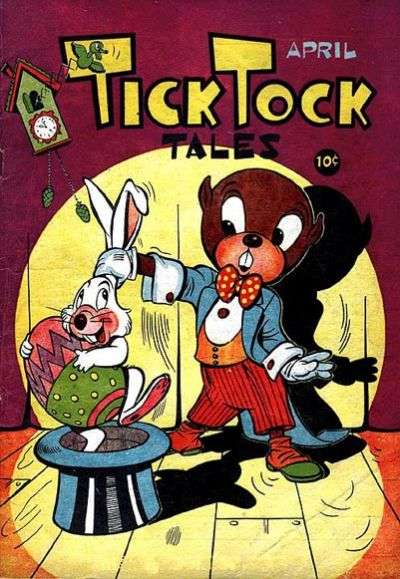 Tick Tock Tales #4 Comic Books - Covers, Scans, Photos  in Tick Tock Tales Comic Books - Covers, Scans, Gallery