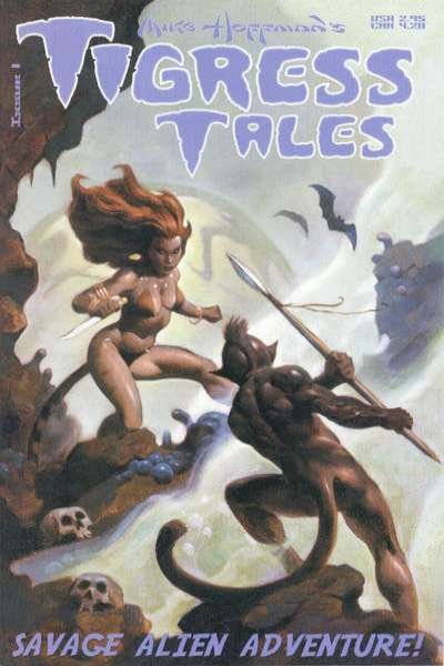 Tigress Tales comic books