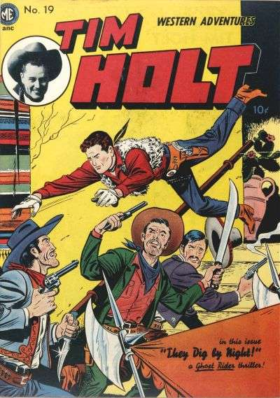 Tim Holt #19 Comic Books - Covers, Scans, Photos  in Tim Holt Comic Books - Covers, Scans, Gallery