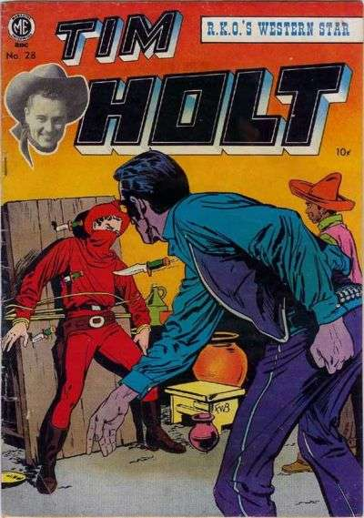 Tim Holt #28 comic books for sale