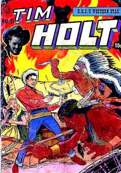 Tim Holt #31 comic books for sale