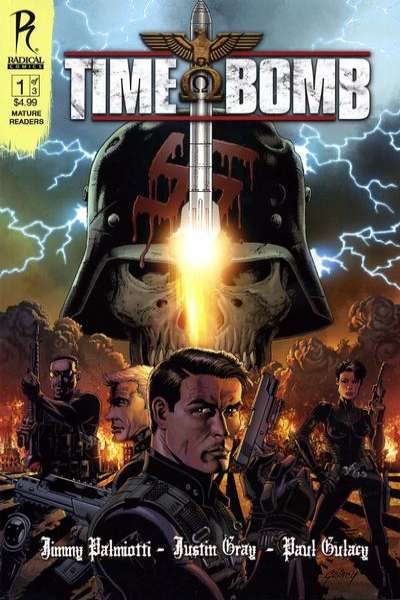 Time Bomb #1 comic books - cover scans photos Time Bomb #1 comic books - covers, picture gallery