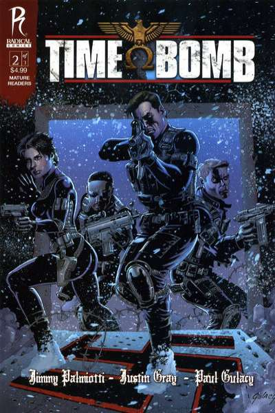Time Bomb #2 Comic Books - Covers, Scans, Photos  in Time Bomb Comic Books - Covers, Scans, Gallery