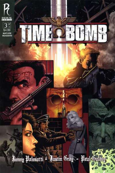 Time Bomb #3 comic books - cover scans photos Time Bomb #3 comic books - covers, picture gallery