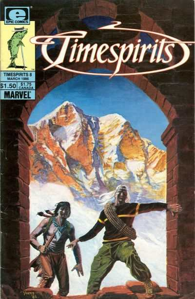 Timespirits #8 comic books - cover scans photos Timespirits #8 comic books - covers, picture gallery