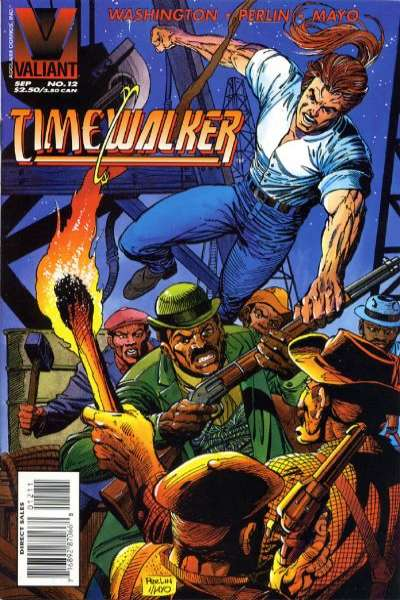 Timewalker #12 comic books for sale