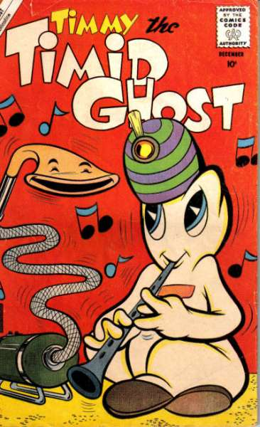 Timmy the Timid Ghost #24 Comic Books - Covers, Scans, Photos  in Timmy the Timid Ghost Comic Books - Covers, Scans, Gallery