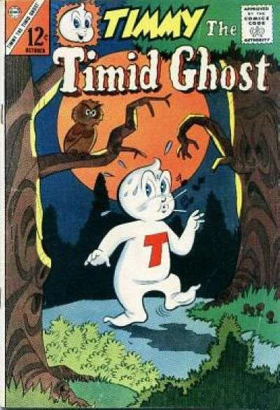 Timmy the Timid Ghost #44 Comic Books - Covers, Scans, Photos  in Timmy the Timid Ghost Comic Books - Covers, Scans, Gallery