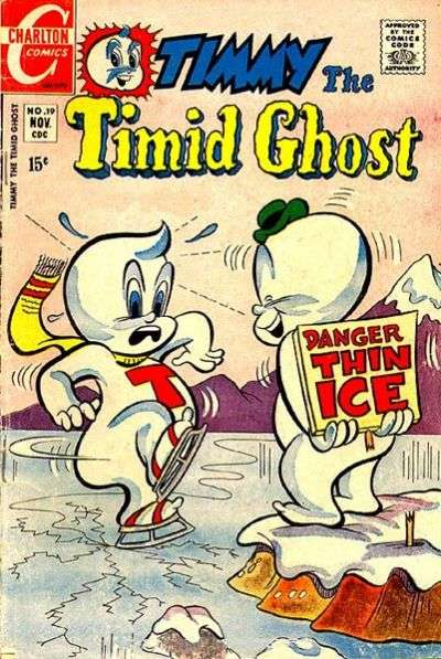 Timmy the Timid Ghost #19 Comic Books - Covers, Scans, Photos  in Timmy the Timid Ghost Comic Books - Covers, Scans, Gallery