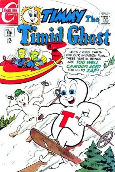 Timmy the Timid Ghost #3 Comic Books - Covers, Scans, Photos  in Timmy the Timid Ghost Comic Books - Covers, Scans, Gallery