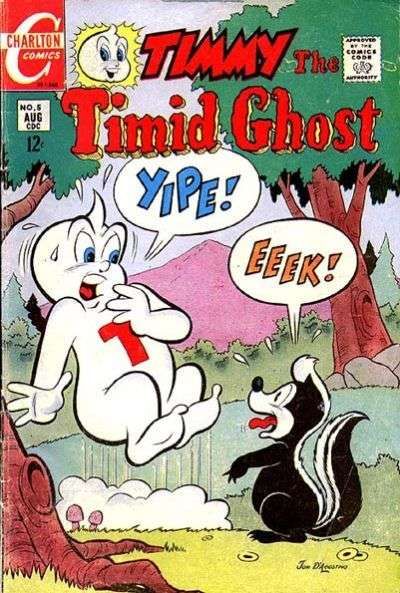 Timmy the Timid Ghost #5 comic books for sale