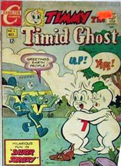 Timmy the Timid Ghost #6 Comic Books - Covers, Scans, Photos  in Timmy the Timid Ghost Comic Books - Covers, Scans, Gallery