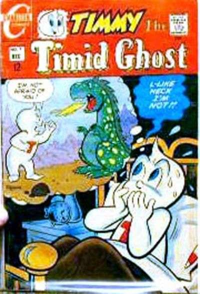 Timmy the Timid Ghost #7 comic books for sale