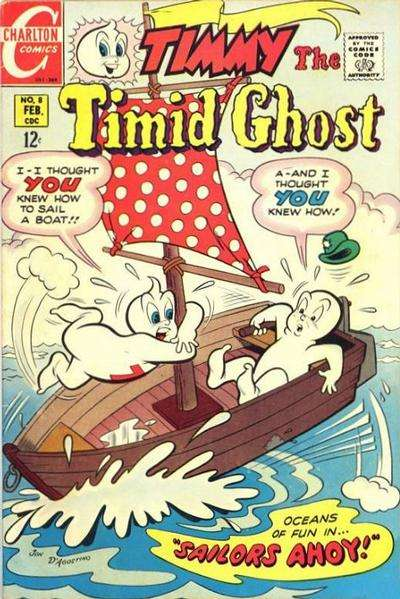 Timmy the Timid Ghost #8 comic books for sale