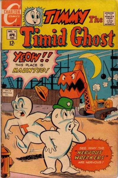 Timmy the Timid Ghost #9 Comic Books - Covers, Scans, Photos  in Timmy the Timid Ghost Comic Books - Covers, Scans, Gallery