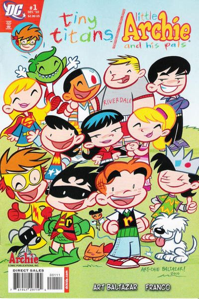 Tiny Titans/Little Archie comic books