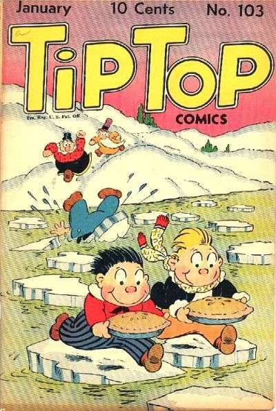 Tip Top Comics #103 Comic Books - Covers, Scans, Photos  in Tip Top Comics Comic Books - Covers, Scans, Gallery