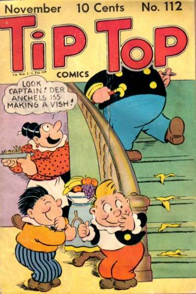 Tip Top Comics #112 Comic Books - Covers, Scans, Photos  in Tip Top Comics Comic Books - Covers, Scans, Gallery